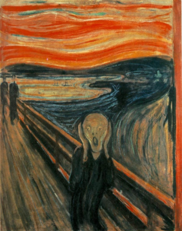 edvard munch - the scream363